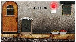 Image 2 - Sgooway sirena intermitente inalámbrica, claxon Flash, luz roja, sirena estroboscópica, para nuestro sistema de alarma