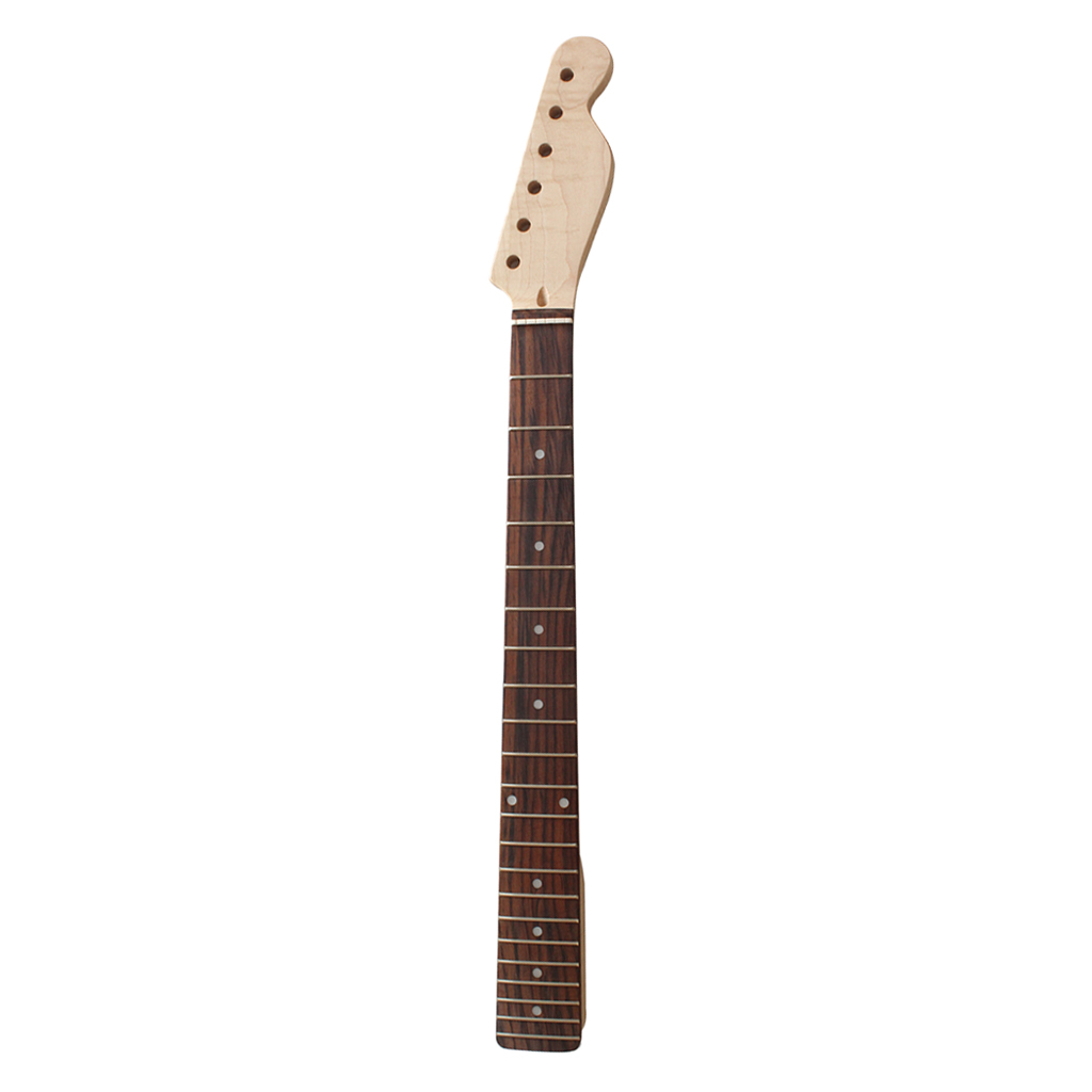 670mm Wooden Electric Guitar 22 Fret Fingerboard Neck For Diy Tl Electric Guitar Replacement Activating Blood Circulation And Strengthening Sinews And Bones Stringed Instruments