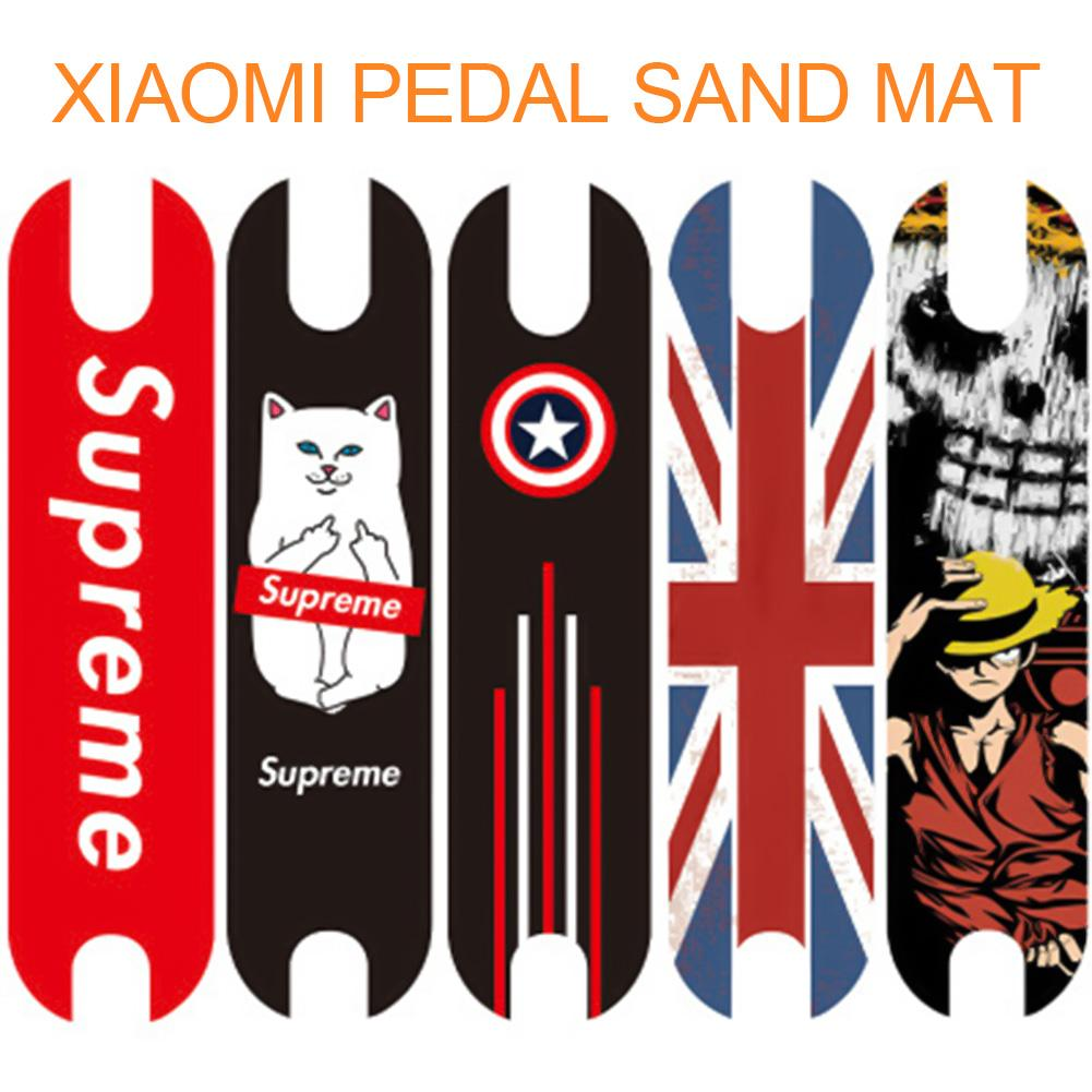 Scooter Pedal Footboard Tape Sandpaper for XIAOMI Mijia M365 Electric Skateboard Anti-slip Sticker Protective Skate Stickers DIYScooter Pedal Footboard Tape Sandpaper for XIAOMI Mijia M365 Electric Skateboard Anti-slip Sticker Protective Skate Stickers DIY