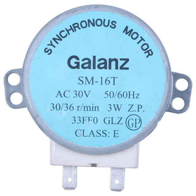Лидер продаж! Sm-16t ac 30 в 3,5/4 Вт 30/36 об/мин синхронный двигатель для микроволновая печь galanz