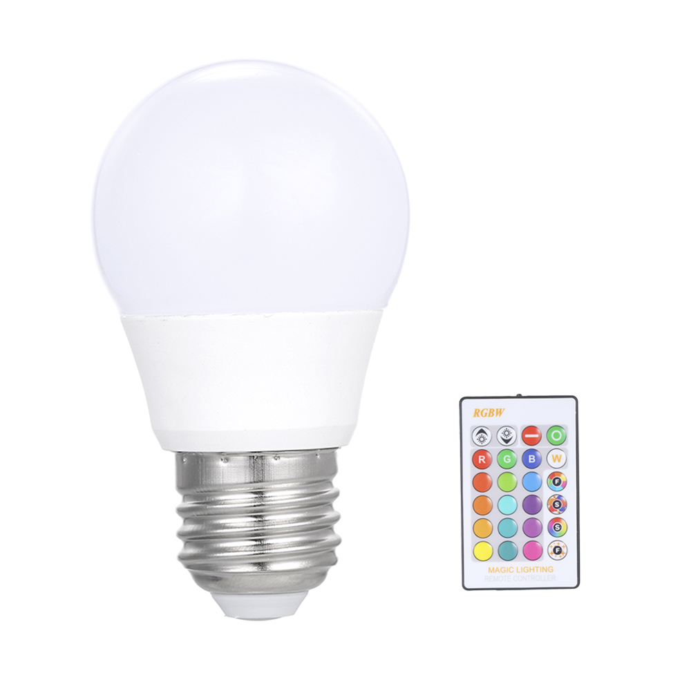 Security & Protection Charitable 3w/5w/10w/15w Rgb Led Lamp E27 Dimmable Bulb Energy Saving Light Multi Colors Spotlight Ir Remote Control Holiday Lighting To Have A Unique National Style Access Control Kits