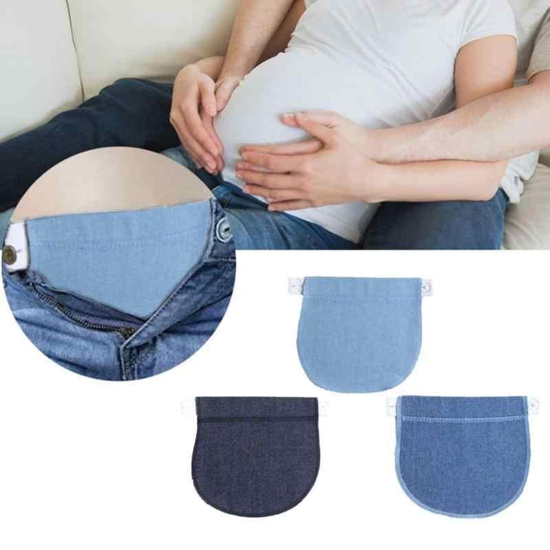 Pantalones Elasticos Ajustables Cinturon Extension Hebilla Boton Alargamiento Extendido Para Mujeres Embarazadas 30 Botones Aliexpress