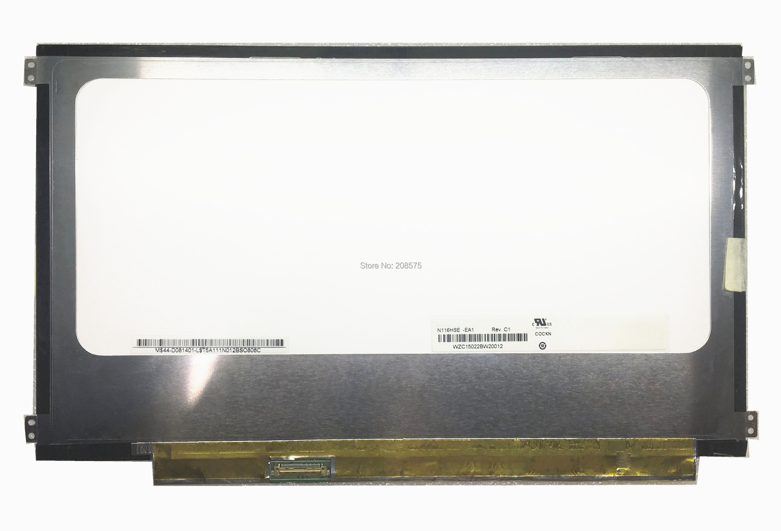 Free Shipping N116HSE-EA1 N116HSE EA1 1920*1080 IPS Laptop Lcd Led Screen for ASUS Zenbook UX21A 11.6