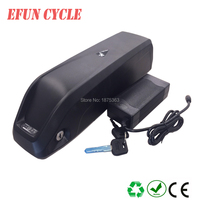 New stype downtube bottle shape 36v 13ah battery pack for 250W 500W electric bike with BMS