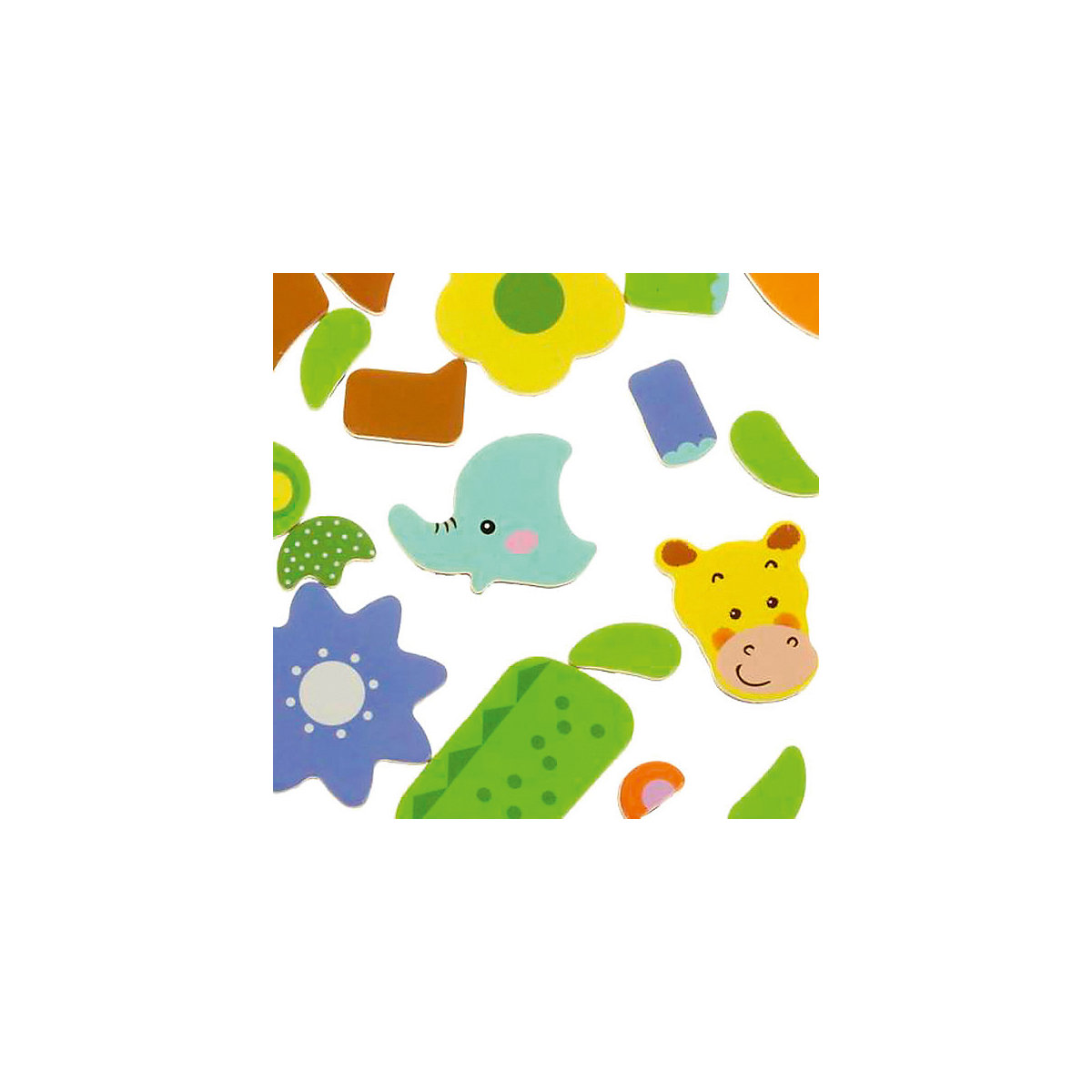 MAPACHA Holz Blöcke 4925605 für jungen und mädchen Pädagogisches spielzeug für kinder Baby Kinder MTpromo - 4