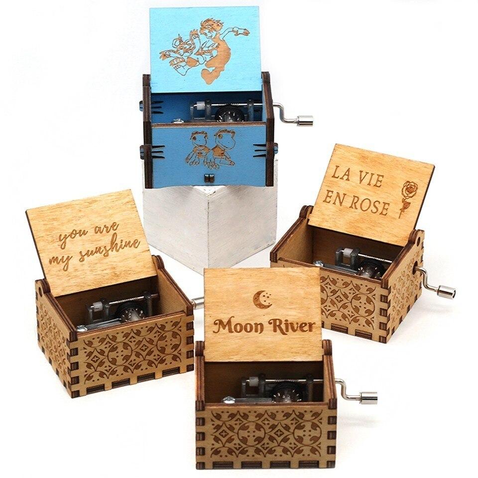 왕좌의 나무 게임 음악 상자 50pcs 무료 배송 dhl 당신은 내 태양 스타 워즈 문 강 크리스마스 새해 생일 선물-에서음악 상자부터 홈 & 가든 의  그룹 1