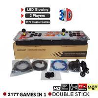 2177 в 1 3D Pandora's Key 7 Box Ретро аркадная игровая консоль 1080 P аркадная машина США Великобритания ЕС AU power