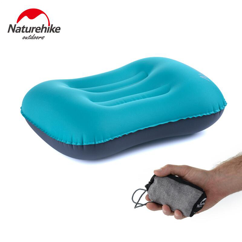 Naturehike Inflatable Travel Pillow Camping Mat Tent Headrest Outdoor Camping Hiking Backpack Cycling Rest Essential Equipment