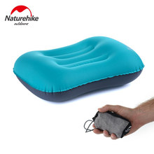 NatureHike Inflatable Perjalanan Bantal Camping Mat Tenda Headrest Outdoor Camping Hiking Ransel Bersepeda Istirahat Peralatan Penting(China)