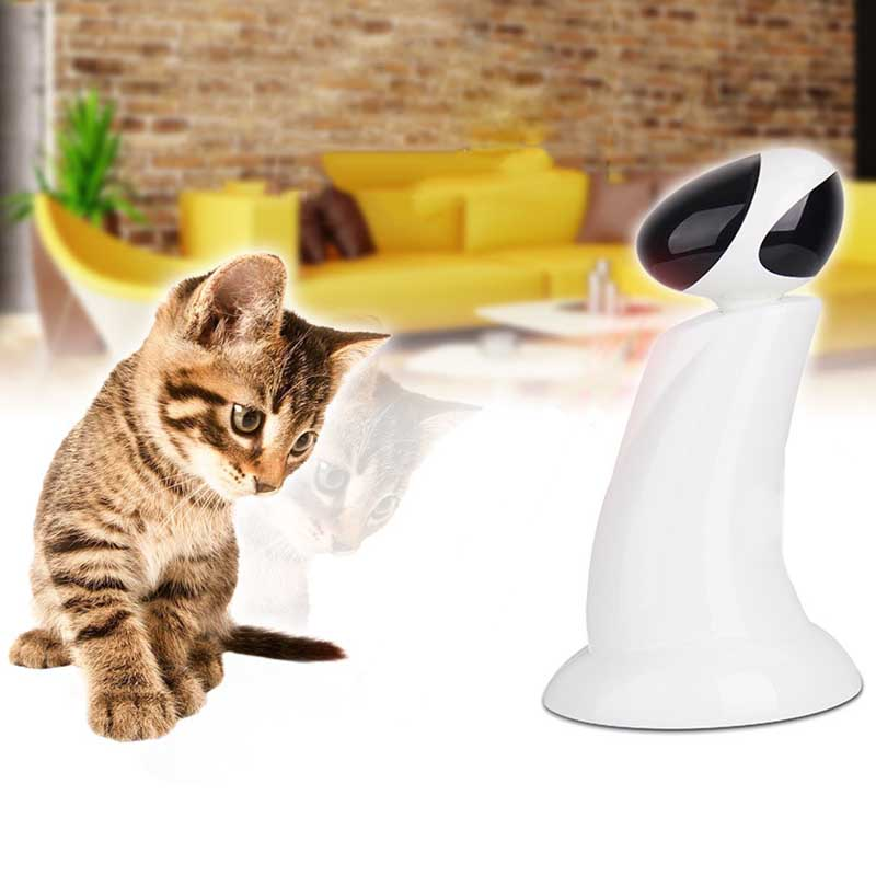Smart Cat Toys Intelligent Pet Funny Aurora Chase Device 360 Degree Rotating Laser ABS Material Dog Cat Toy-in Cat Toys from Home & Garden    1