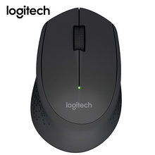 b28ef048d Logitech M280 M275 2.4G Wireless Mouse Portable Gaming Mouse Comfortable  Shape with USB Receiver