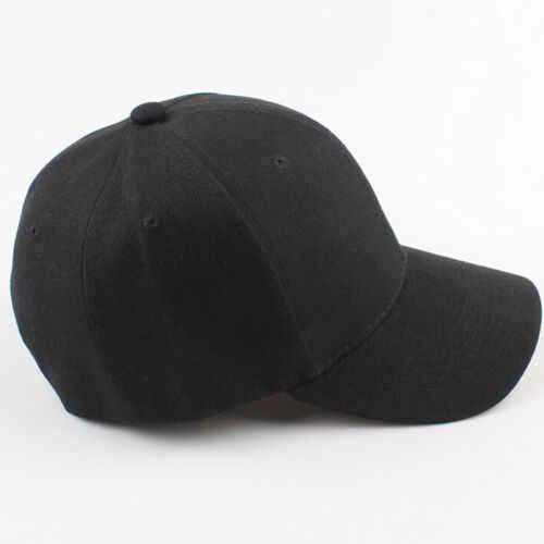 الرجال النساء الصيف الصلبة Snapback ذيل حصان البيسبول قبعة كروية الرياضة في الهواء الطلق القبعات قابل للتعديل قبعة لعبة الغولف أبيض أسود أحمر