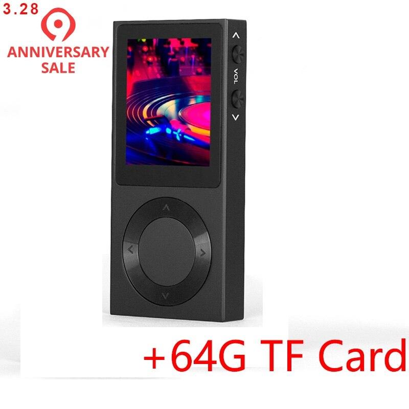 D'origine BENJIE T6 Hifi MP3 Lecteur Bluetooth 4.0 Portable DSD HiFi Son Sans Perte Lecteur de Musique-Prend En Charge jusqu'à 256 gb MP3 Musique
