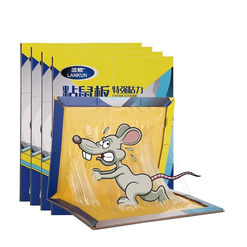 10pcs/lot 22*34cm Mousetrap Non-toxic Rat Killer Pest Control Reject Mouse Board Sticky Glue Trap Strong Glue Board Mice Catcher