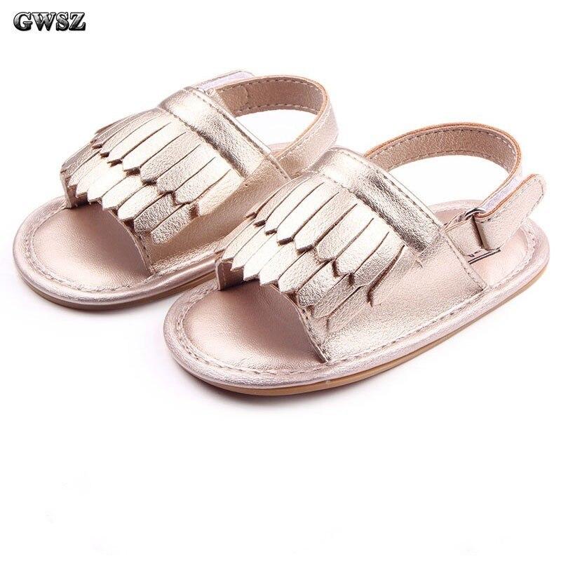 Shoes Prewalkers Tassels Girls Princess Fashion Summer Baby Children