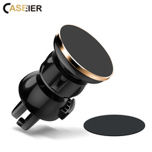 CASEIER Magnetic Car Universal Phone Holder Stands For iPhone X XR XS MAX 8 7 Plus 360 Degree Rotatable Samsung S10 S9