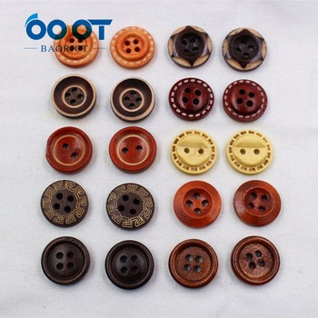 16123011 10 Uds 2 agujeros 15mm botones de madera de dibujos animados costura para Jersey abrigo ropa artesanal y Scrapbooking Accesorios
