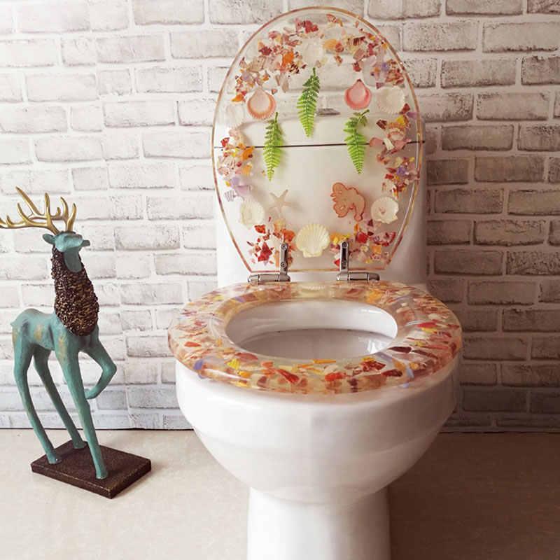 Terrific Universal Slow Close Toilet Seats Cover Europe Style O U V Shape Resin Toilet Lid Stainless Steel Hinged Toilet Seats J18321 Evergreenethics Interior Chair Design Evergreenethicsorg