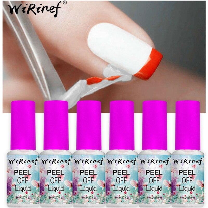 wirinef 8ml white peel easy