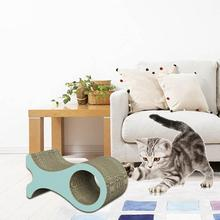 Cat Tree Scratcher Cutouts To Hide Toys Corrugated Paper Super Large Whale Cat Claw Board Venting Grabbing Board -in Furniture & Scratchers from Home & Garden on Aliexpress.com | Alibaba Group