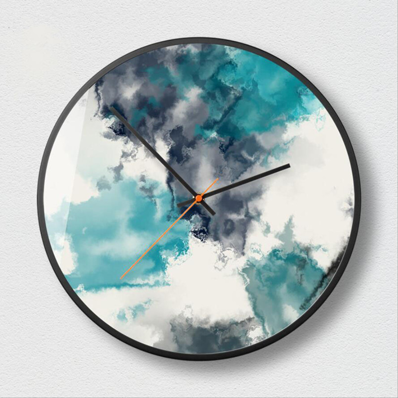 New 3D Wall Clock Quartz Abstract Wall Clock Large Size 12inch 14inch Super Silent Wall Clock Modern Design For Living Room