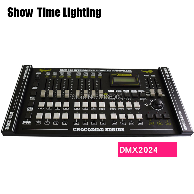 SHOW TIME Crocodile 2024 DMX Controller Stage Light DMX Console Led Par Moving Head DJ Light Stage Effect Light