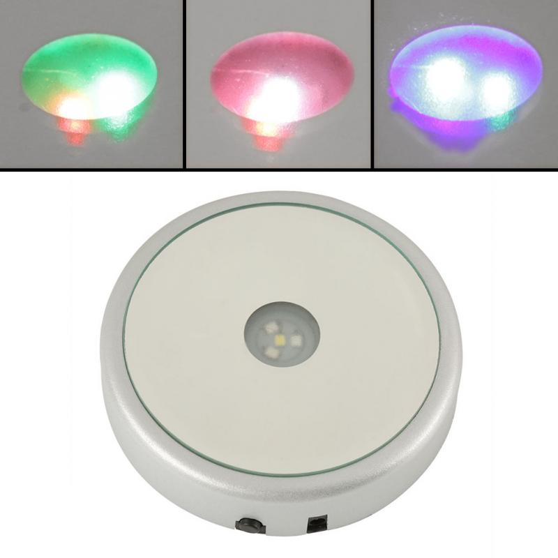 Colorful LED Light Base For Display Night Light Show Stand Crystal Display Stand Base High Quality Hot Sale