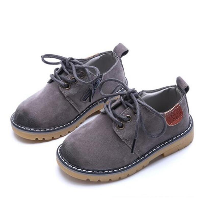 Baby Shoes Dress Flats-02b Toddler Retro Girls Children Kids New Nubuck England Boys