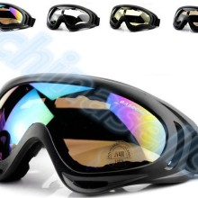 Cycling Sunglasses Goggles Moto UV400 Winter Sports Windproof Outdoor 1pcs