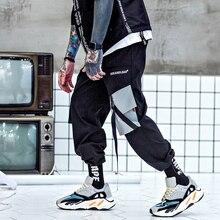 YWSRLM 2018 moda Otoño bolsillos de carga pantalones Harem hombre Joggers  holgados pantalones tácticos Harajuku Streetwear Hip H.. 7d4c50548c2a