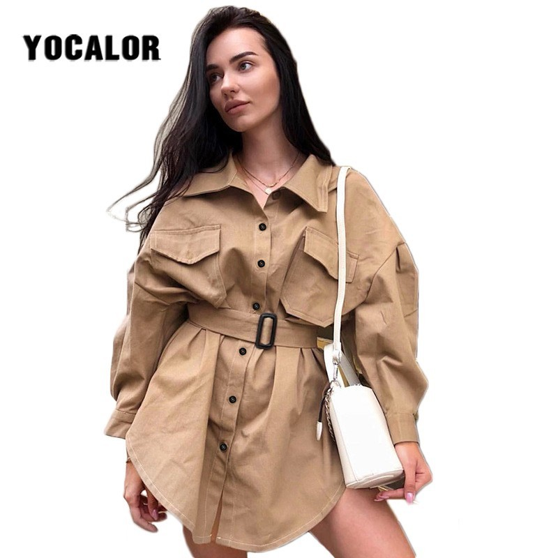 Autumn Windbreaker Loose   Trench   Coat Female For Women Woman Clothes Vintage Manteau Femme Hiver Spring Cloak Sashes Plus Size