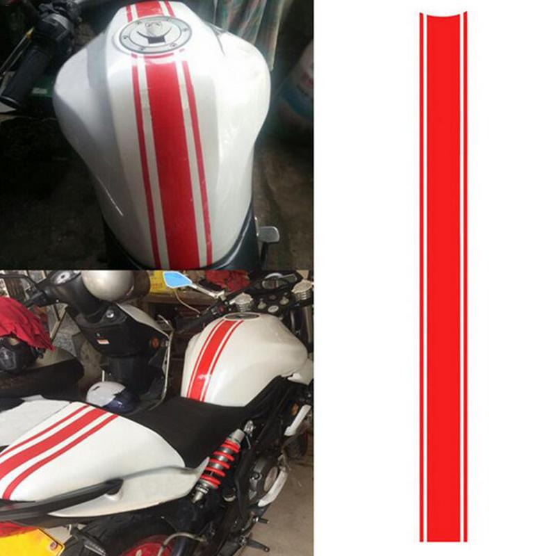 New Motorcycle Stickers DIY Op Pinstripes Reflective Warning Fuel Tank Cap Waterproof Anti fading Racing Exterior Accessories in Decals Stickers from Automobiles Motorcycles