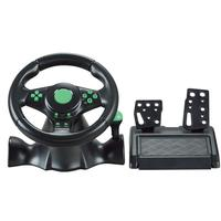 Car Racing Game Steering Wheel Gamepad 180 Degree For XBOX 360/For PS3/PS4/PC Dual Motor Feedback Force Simulation Driving Car