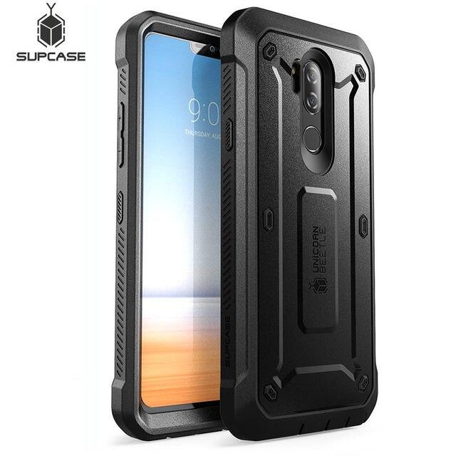 עבור LG G7 ThinQ מקרה כיסוי 6.1 inch SUPCASE UB פרו מלא גוף מוקשח נרתיק קליפ מגן מקרה עם מובנה מסך מגן