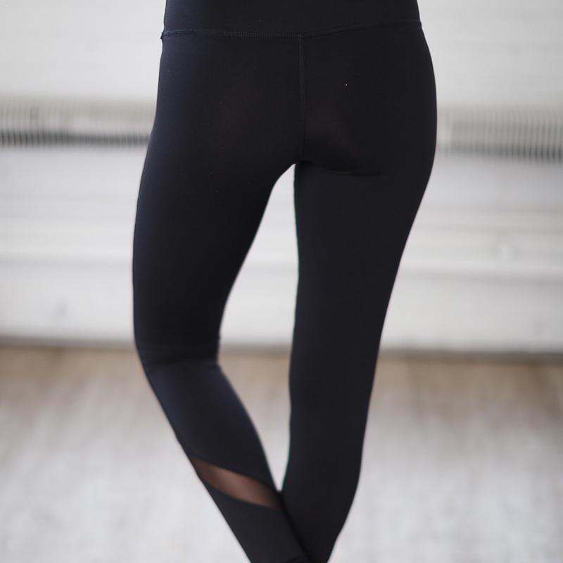 Fitness Yoga Sports Leggings For Women Sports Tight Mesh Yoga Leggings Yoga Pants Women Running Pants Tights 2019 New Arrival in Yoga Pants from Sports Entertainment