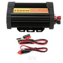 Car Inverters 12V DC to 110V AC 1500W Car Auto Voltage Transformer Inverter Converter Car Charge accessoire voiture