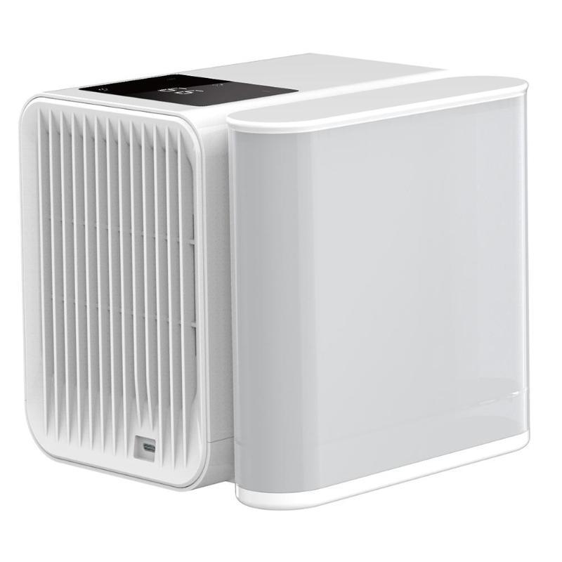 USB Mini climatiseur refroidisseur humidificateur purificateur bureau Air refroidissement ventilateur 1000 ml réservoir d'eau Air refroidissement ventilateur pour bureau à domicile