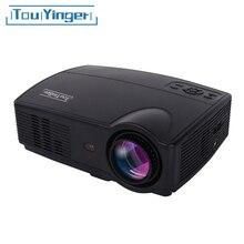 Touyinger Everycom X9 Máy Chiếu LED HD 3500 Lumens Beamer 1280*800 LCD Full HD 4K Video Nhà nhà Hát Đa Phương Tiện HDMI /VGA/ AV
