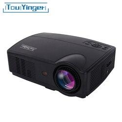 Touyinger everycom x9 led hd projetor 3500 lumens beamer 1280*800 tv lcd completo hd 4 k vídeo cinema em casa multimídia hdmi/vga/av