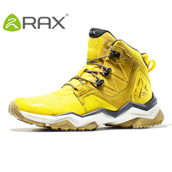 Rax Men Hiking Boots Waterproof Outdoor Sports Sneakers for Women Lightweight Trekking Shoes Mid-top Mountain Boots Tourism Shoe