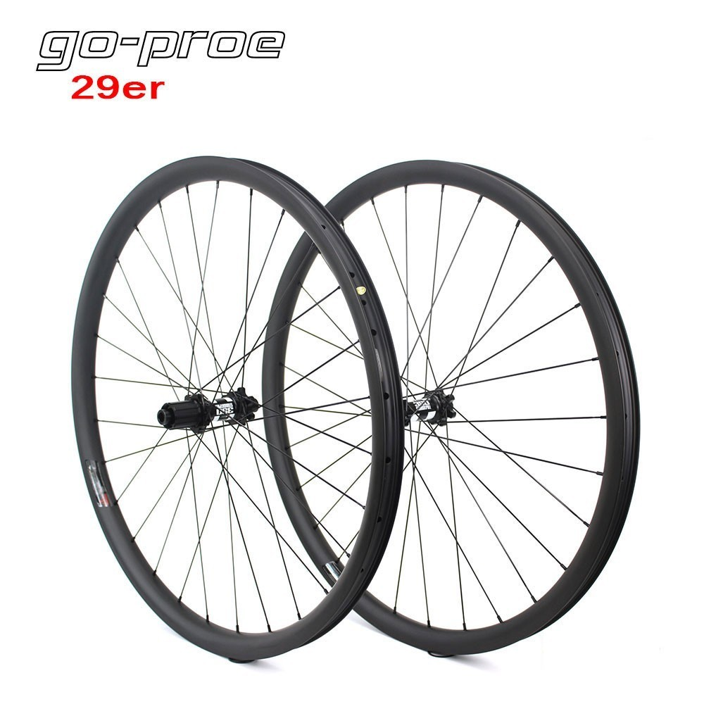 Go-proe DT Swiss 350 Hub 29er MTB Carbon Wheel 33mm Width For Cross Country And All Mountain Bike Wheelset QR Or BoostGo-proe DT Swiss 350 Hub 29er MTB Carbon Wheel 33mm Width For Cross Country And All Mountain Bike Wheelset QR Or Boost