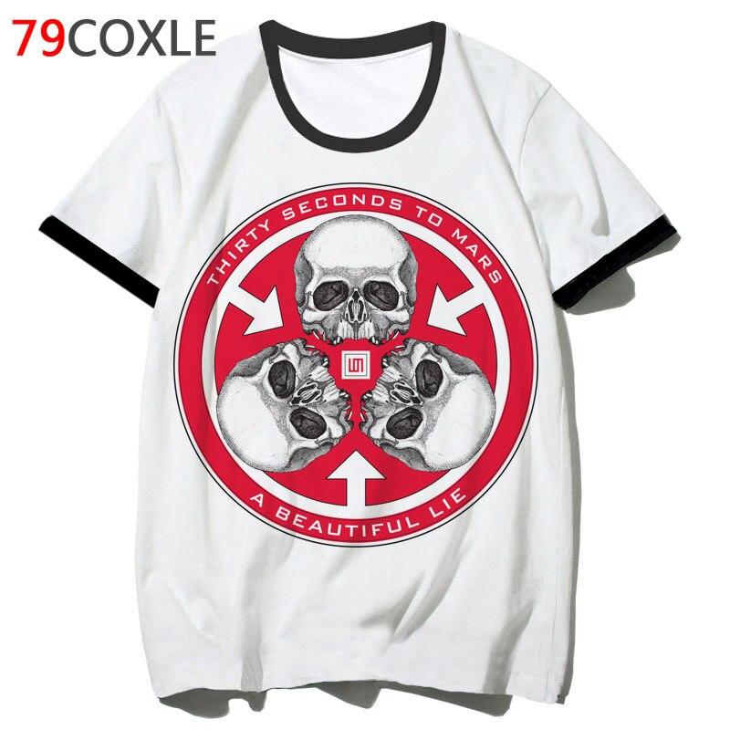 30 Seconds To Mars T Shirt Hop For Tshirt T-shirt 2019 Tee Hip Clothing Men Top School Harajuku Funny Streetwear Male F2010