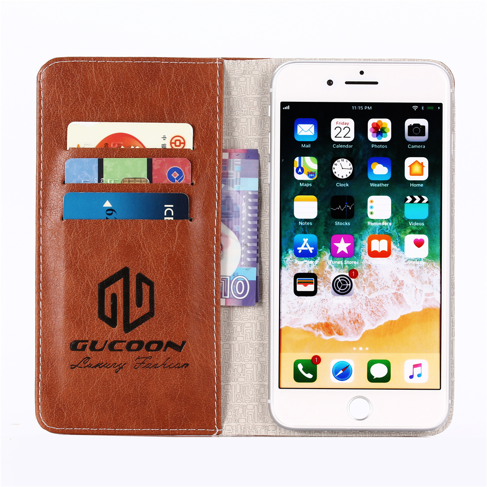 Adsorption Wallet for Black Fox Phone Cover for BlackBerry 1