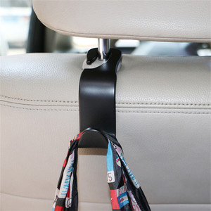 Image 5 - 1pc Bearing 20kg Car Hook Car Seat Rear Hook Clip Auto Headrest Hanger Bag Holder Car Purse Cloth Grocery Storager Car Accessory