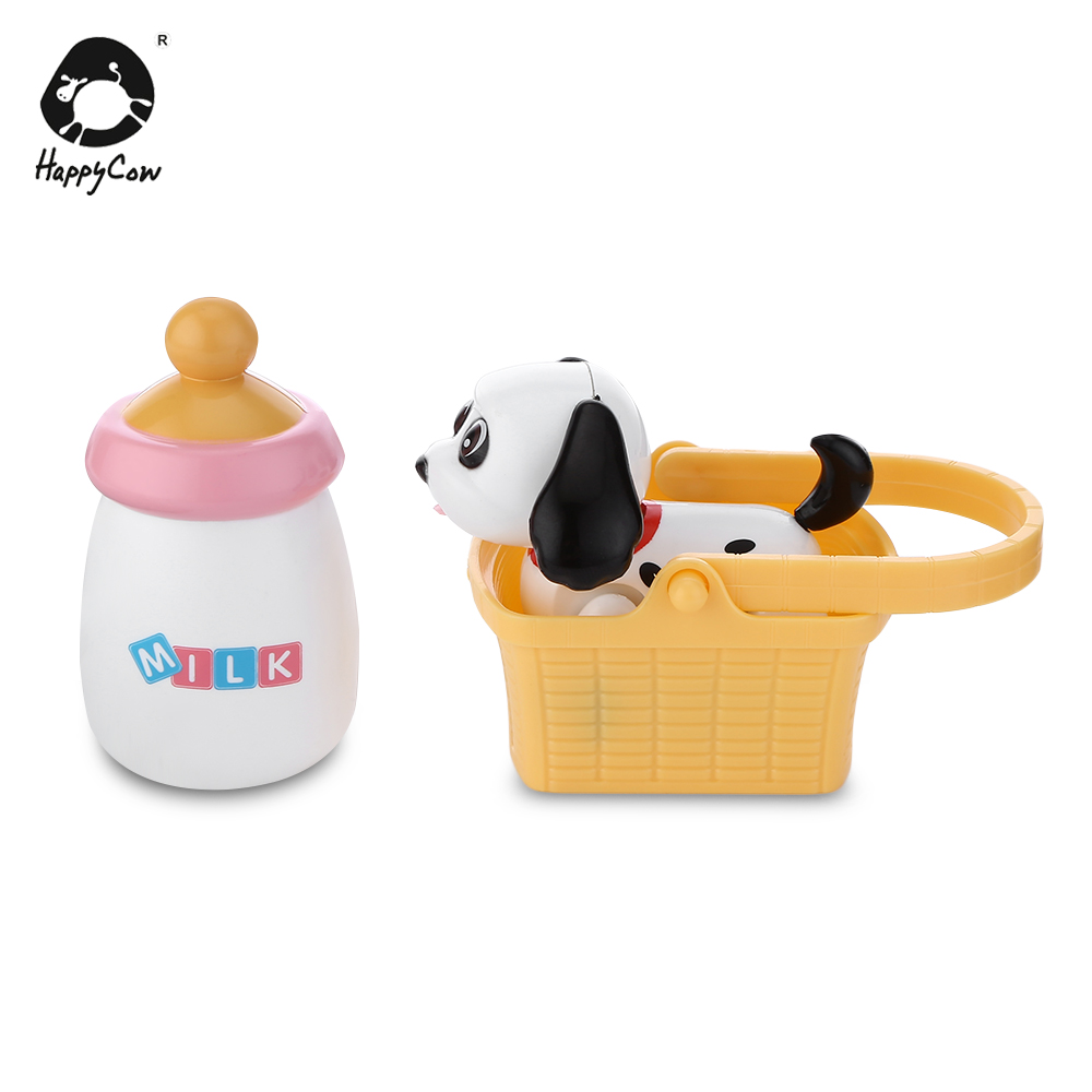 HAPPYCOW 777-263 Baby Electronic Pet Sucking Milk Dog Electronic Induction Feeding Toy Pet Sucking Milk Cat Cute Electronic Toy