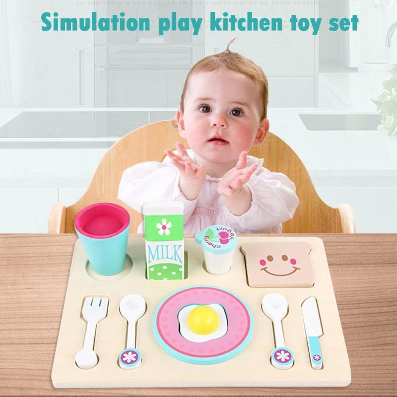 Baby Girl Simulation Kitchen Toy Cutting Fruit Vegetable Toys Children Education Gift Early Educational Toys For Children