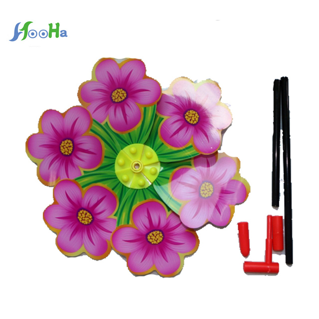 Kindergarten Windmill Children With Butterfly Spring Flower Type Large  Toy Stall Hot Mix