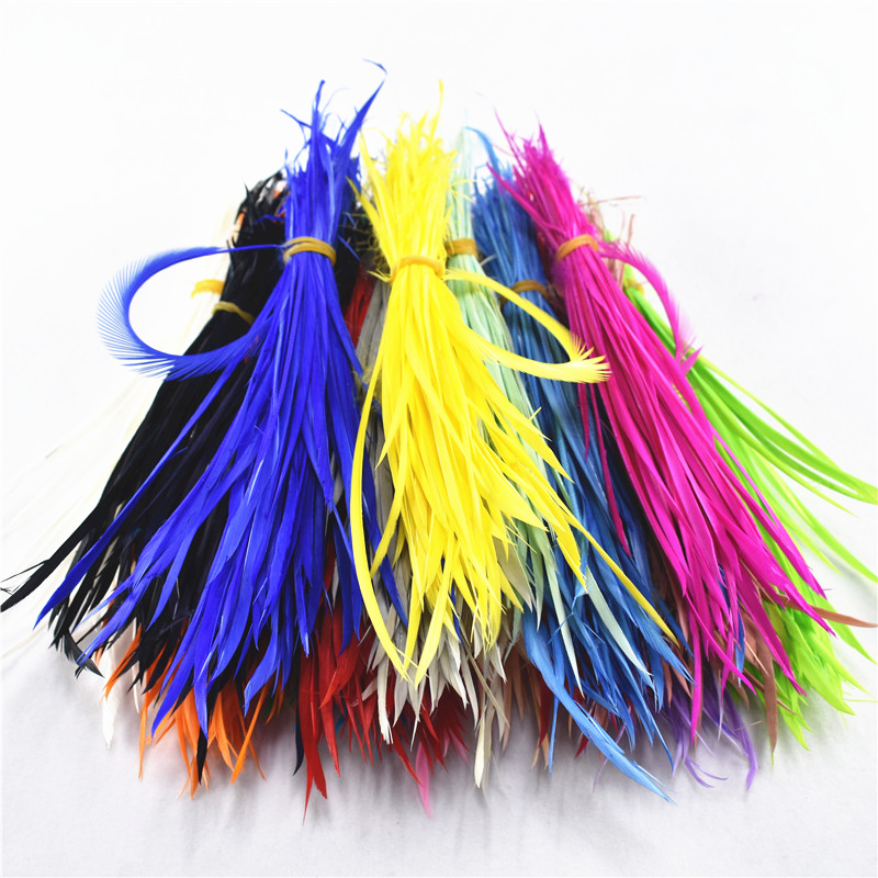 Wholesale20-100pcs/Lot Single Color Thin Soft Turkey Marabou Feathers Washed Goose Fluffy Feathers For Crafts Wedding Decoration