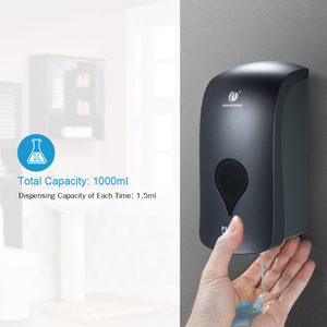 Image 3 - Wall Mounted Soap Dispenser Shower Gel Liquid Shampoo Hand Sanitizer Dispenser Holder Bathroom Kitchen Soap Dispenser 1000ml