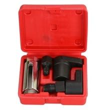 5 Pc 22Mm  Chrome Vanadium Steel Oxygen Vacuum Lambda Sensor Remove Socket Set Kit Thread Chasers Car Tools Repair Tool